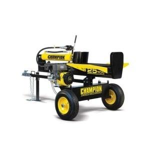 Champion 25-Ton Horizontal Vertical Full Beam Gas Log Splitter