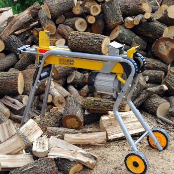 best wood log splitters on sale 2019